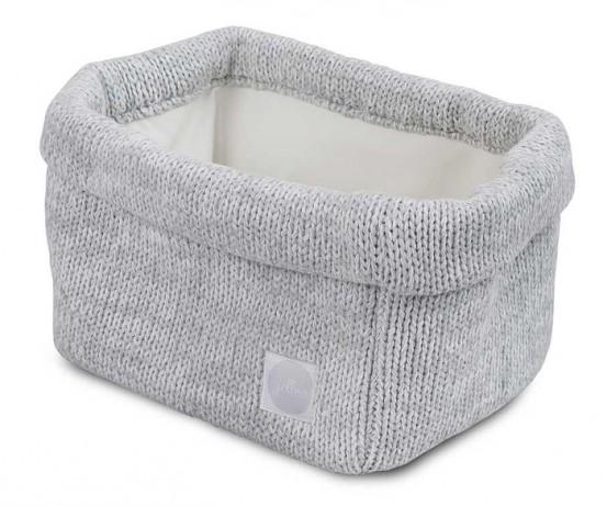 Jollein Mandje Melange Knit Soft Grey