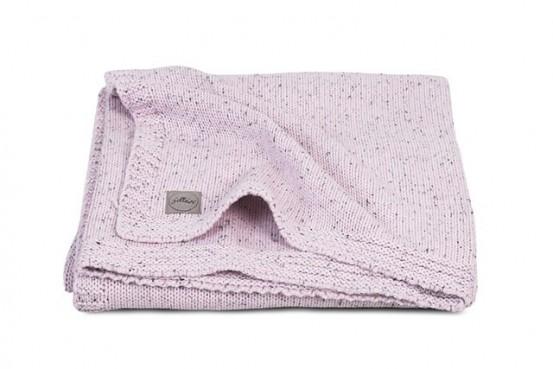 Jollein Deken Confetti Knit 75x100cm Vintage Pink