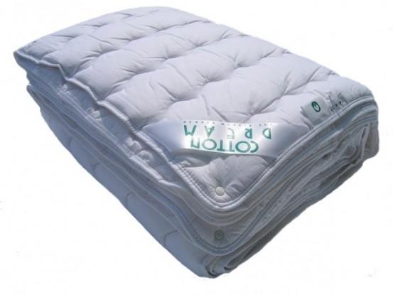 Zuiver Katoen Dekbed.4-Seizoenen 100x135cm (Wasbaar 90 graden C)
