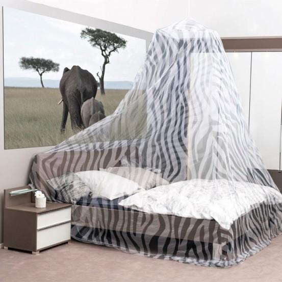 Klamboe XXL Zebra Design