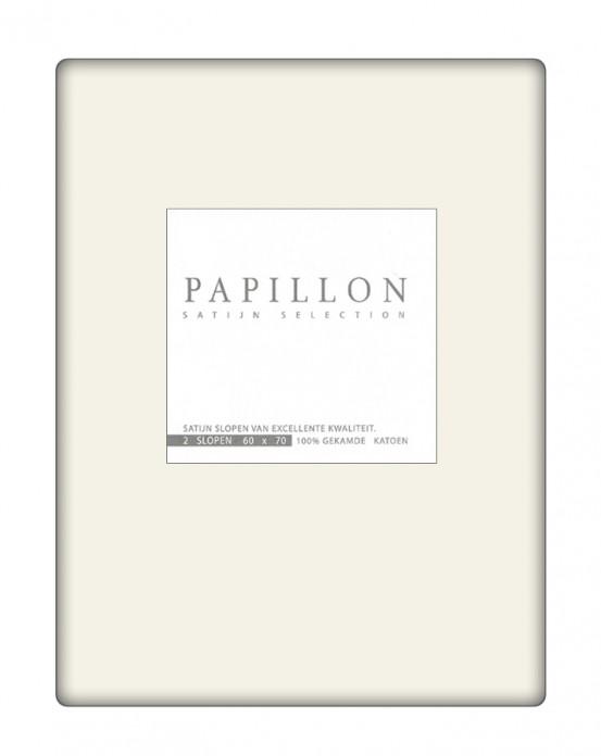Satijn Slopen Papillon Ecru (2 stuks)