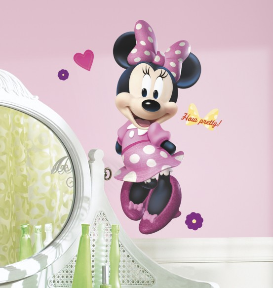 Minnie Mouse Muurstickers How Pretty (RoomMates)
