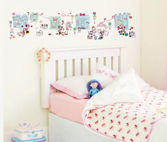 Minnie Mouse Plak een Verhaal Stickers