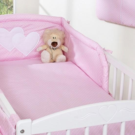 My Sweet Baby Dekbedovertrek Dots Roze