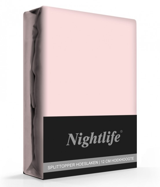 Nightlife Jersey Splittopper Hoeslaken Roze