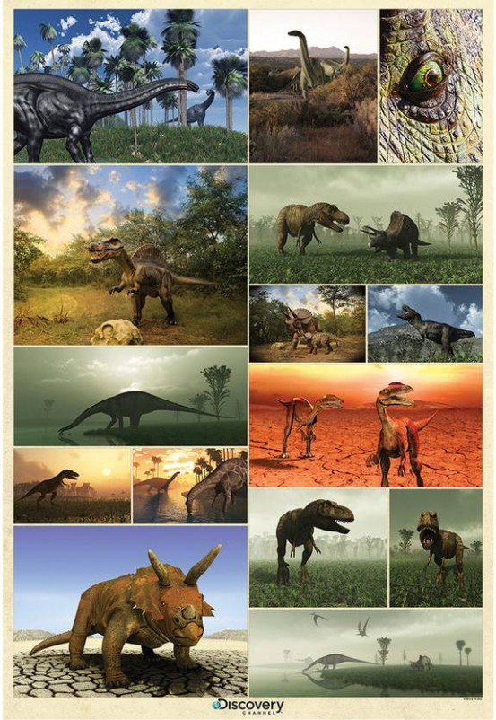 Dinosaurus Fotobehang (Wallpaper)