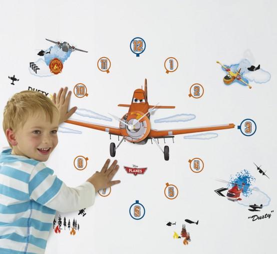 Planes Klok met Stickers