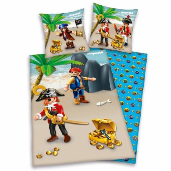 Teen World Dekbedovertrek Playmobil Piraat