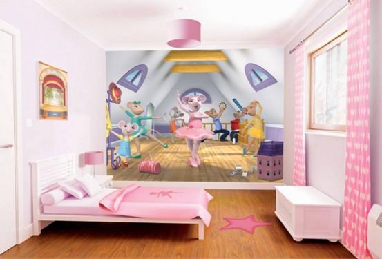 Angelina Muizeling Fotobehang (Walltastic)