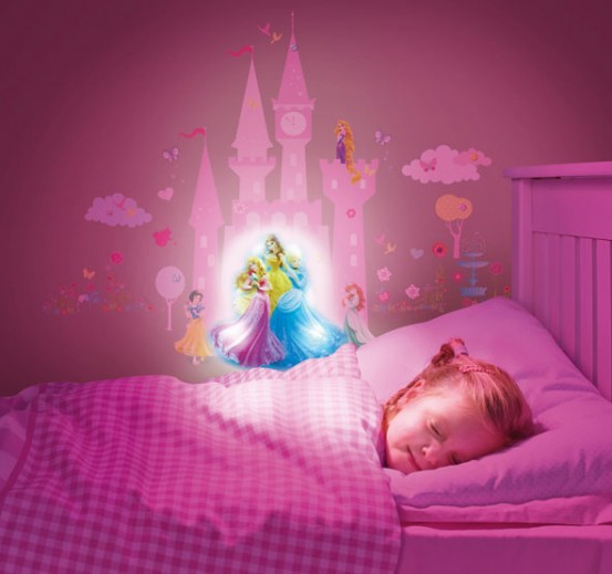 Glow in the Dark Sound Stickers Princess