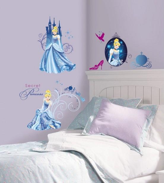 Princess Muurstickers Glamour Glitter (RoomMates)