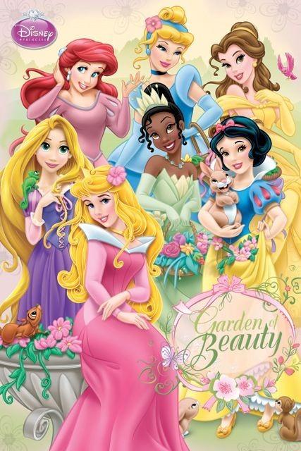Princess Disney Fotobehang (Wallpaper)