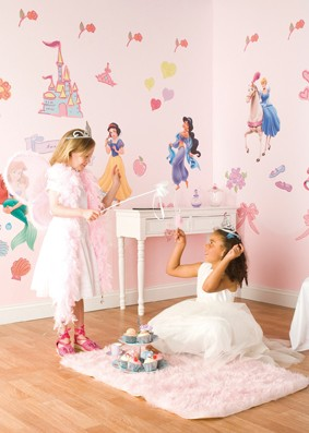 "Princess Sticker ""Room make over kit"""