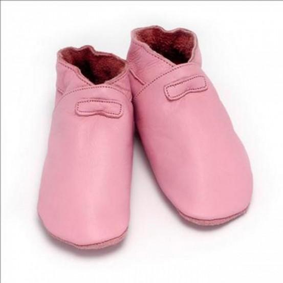 Baby Dutch babyslofjes Roze