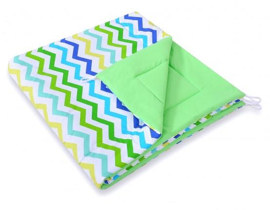 Speelkleed Tipi Tent Chevron Green-Blue
