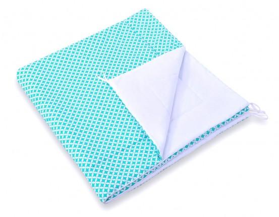 Speelkleed Tipi Tent Diamond Mint-White