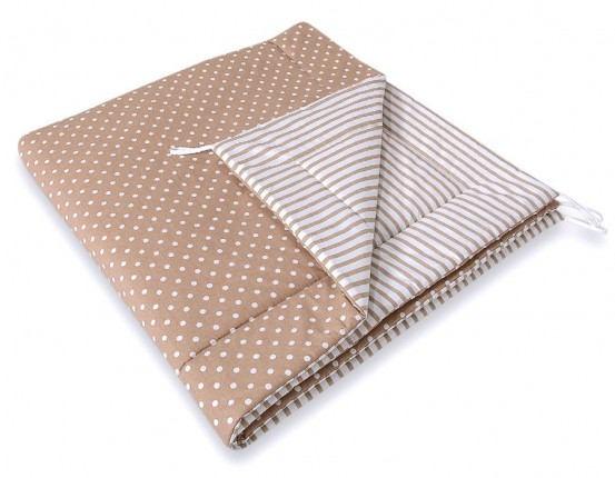 Speelkleed Tipi Tent Dots Brown-Beige