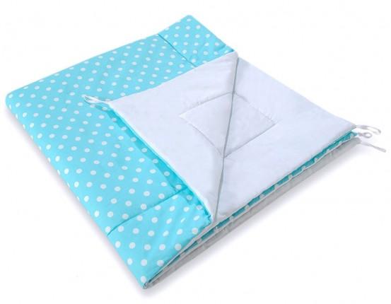 Speelkleed Tipi Tent Dots Turquoise