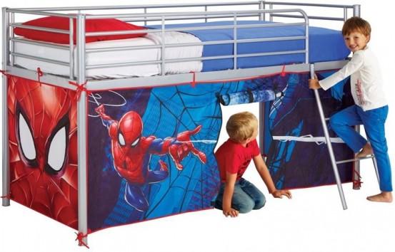 Spiderman Bedtent voor Halfhoogslaper