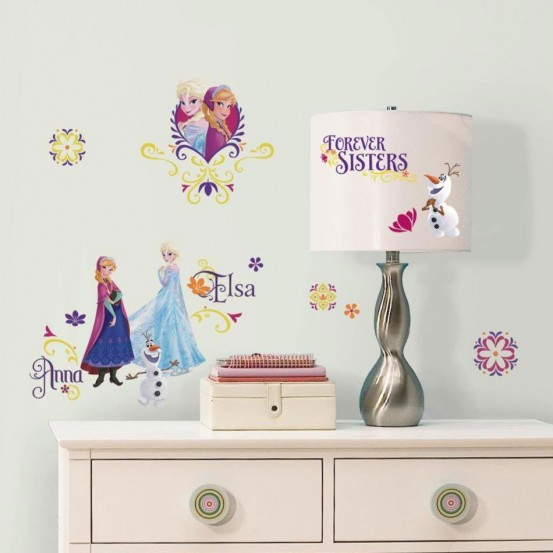 Frozen Muursticker Spring (RoomMates)