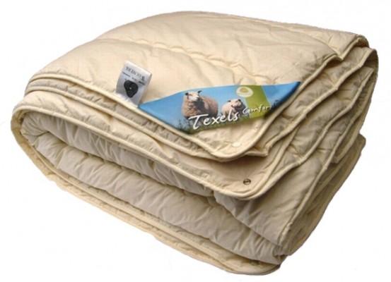 4-Seizoenen Texels Schapenwol Dekbed Comfort