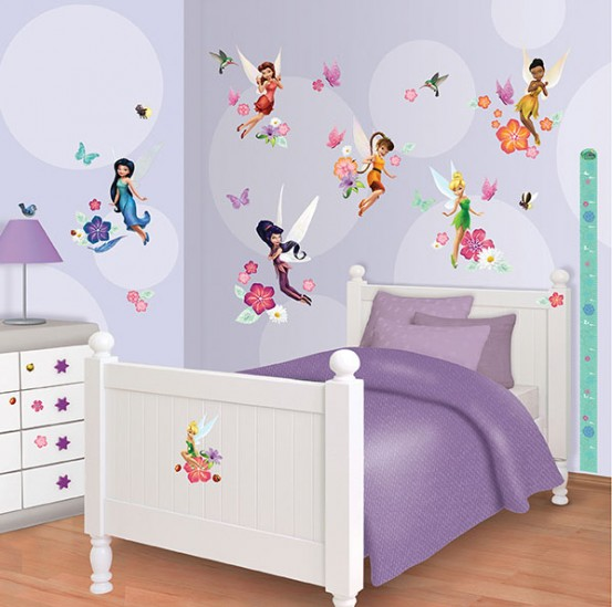 Disney Fairies Muurstickers (Walltastic)