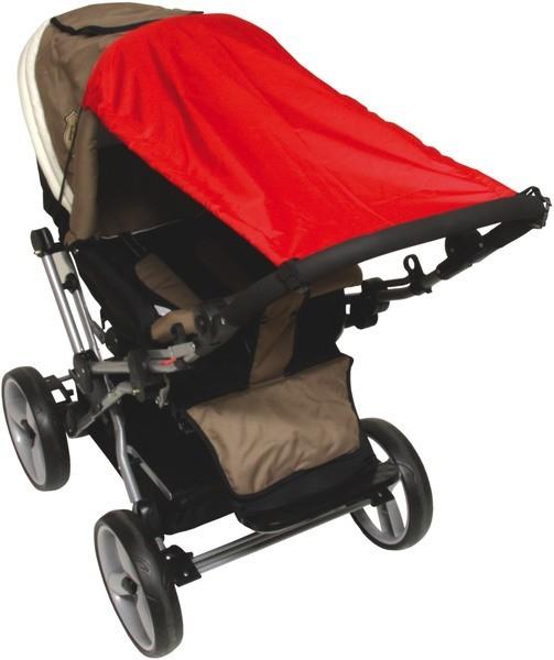 UV Bescherming voor Kinderwagens Rood