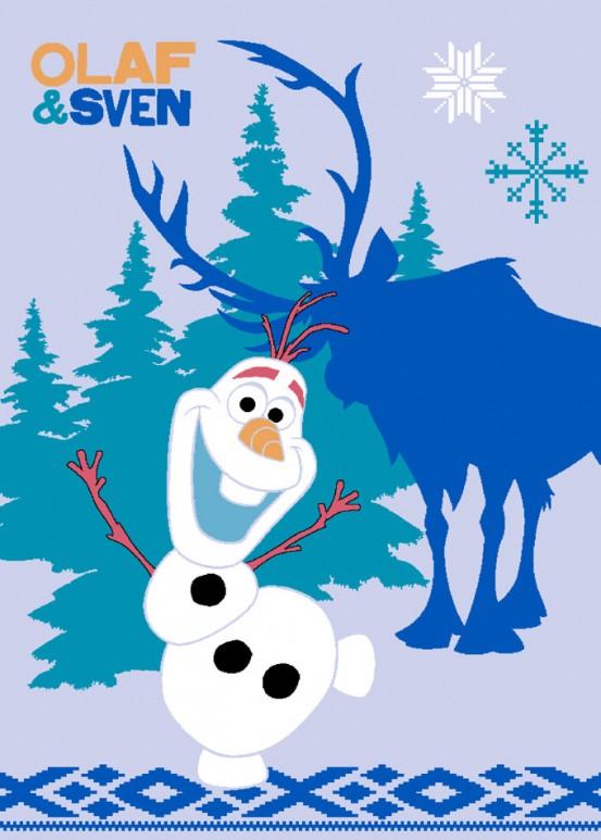 Frozen Vloerkleed Olaf & Sven