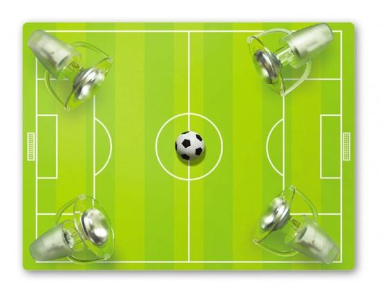 Voetbalveld Plafondspot groen