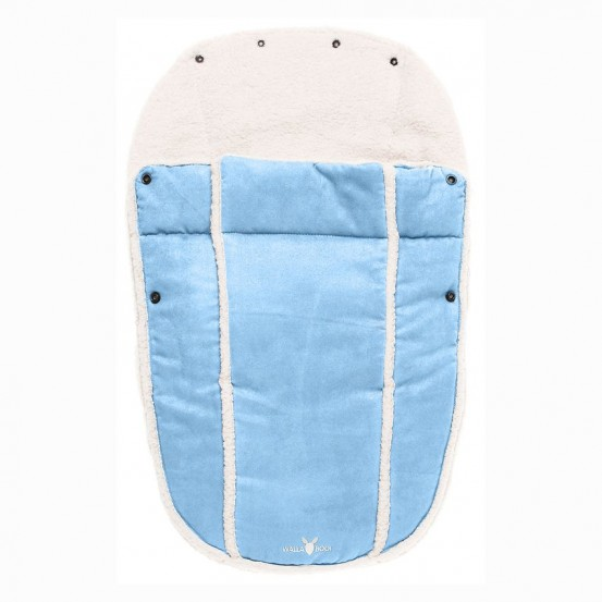 Wallaboo Voetenzak Newborn Soft Blue 0 - 12 mnd