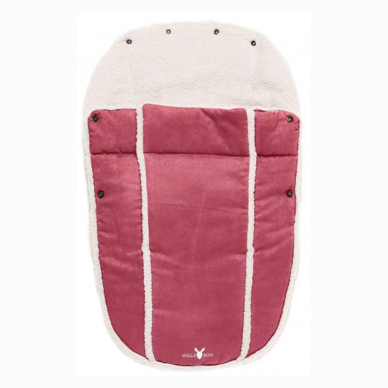 Wallaboo Voetenzak Newborn Warm Red 0 - 12 mnd