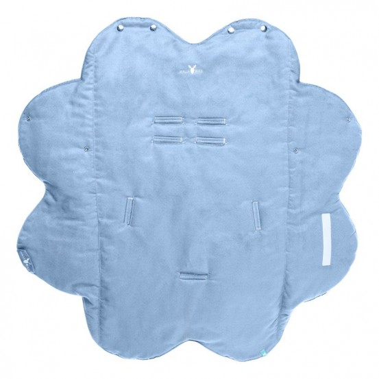 Wallaboo Wrapper Suède Nore Soft Blue