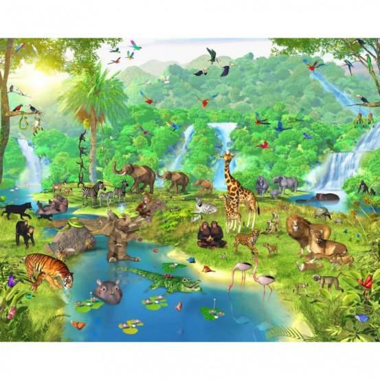 Jungle 2 Fotobehang (Walltastic)