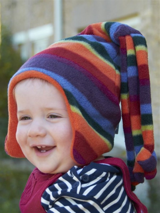 Buggy Snuggle Kindermuts Warm Stripe Loopy S