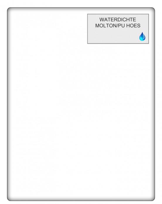 Waterdichte Molton Hoeslaken PU (Slaaptextiel)