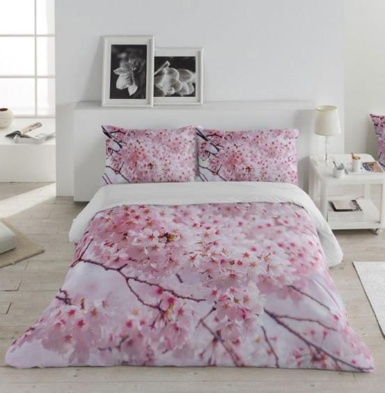 Zavelo Dekbedovertrek Pink Blossom