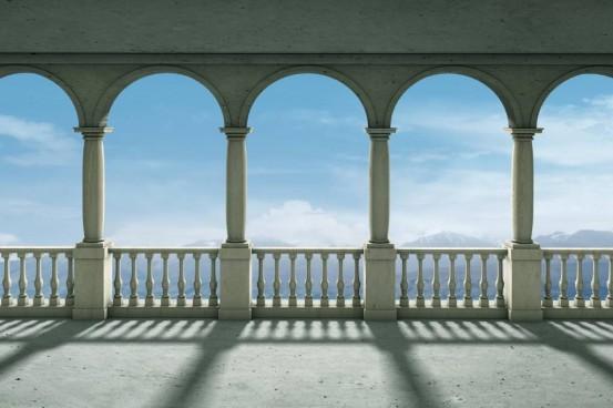 Zuilen Fotobehang (Wallpaper)