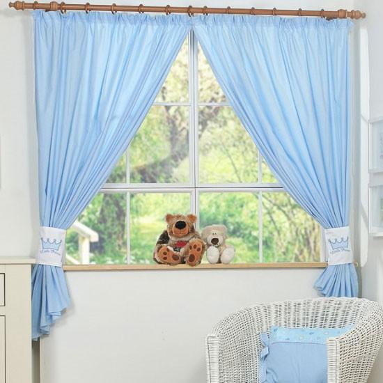 my sweet baby gordijn little prince blauw (2 stuks) - gordijnen, Deco ideeën