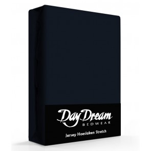 Day Dream Jersey Hoeslaken navy-90 x 200 cm
