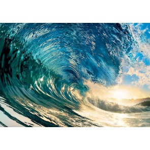 Wizzard and Genius Fotobehang The Perfect Wave