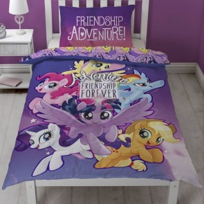 My Little Pony Dekbedovertrek Friendship 135x200cm Multi