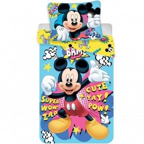Disney Dekbedovertrek Mickey Mouse Bam Multi