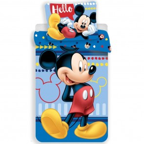 Disney Mickey Mouse Dekbedovertrek Hello