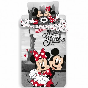 Disney Minnie Mouse Dekbedovertrek New York