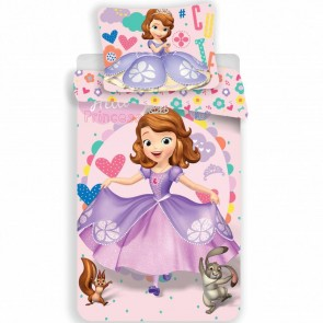 Prinses Sofia the First Dekbedovertrek Dress