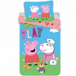 Peppa Pig Dekbedovertrek Play