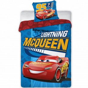 Disney Cars Dekbedovertrek Lightning McQueen