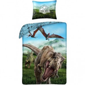 Jurrasic World Dekbedovertrek T-Rex