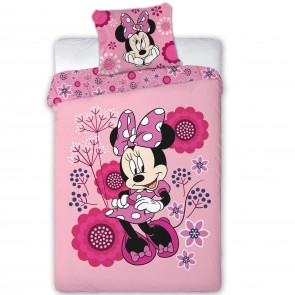 Minnie Mouse Dekbedovertrek Flowers