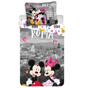 Minnie en Mickey Mouse Roma Love